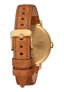 Nixon The Arrow Leather Gold/White/Saddle