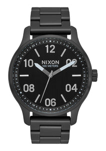 Nixon The Patrol Black/Silver