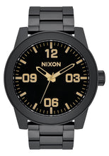 Nixon The Corporal SS Matte Black/Gold