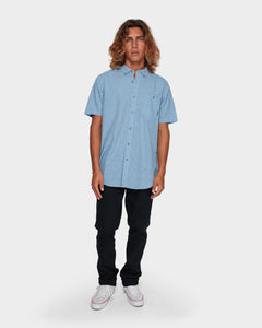 All Day Jacquard S/S Shirt