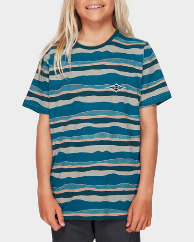 Boys Tear Stripe Tee