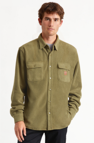 Bowery Fleece L/S Flannel