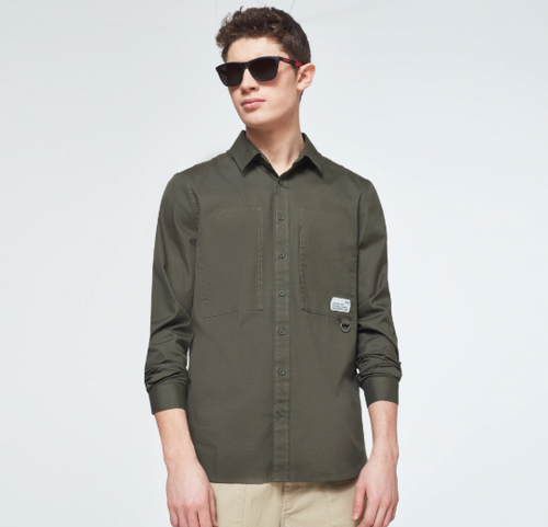 Workwear Patch LS Shirt