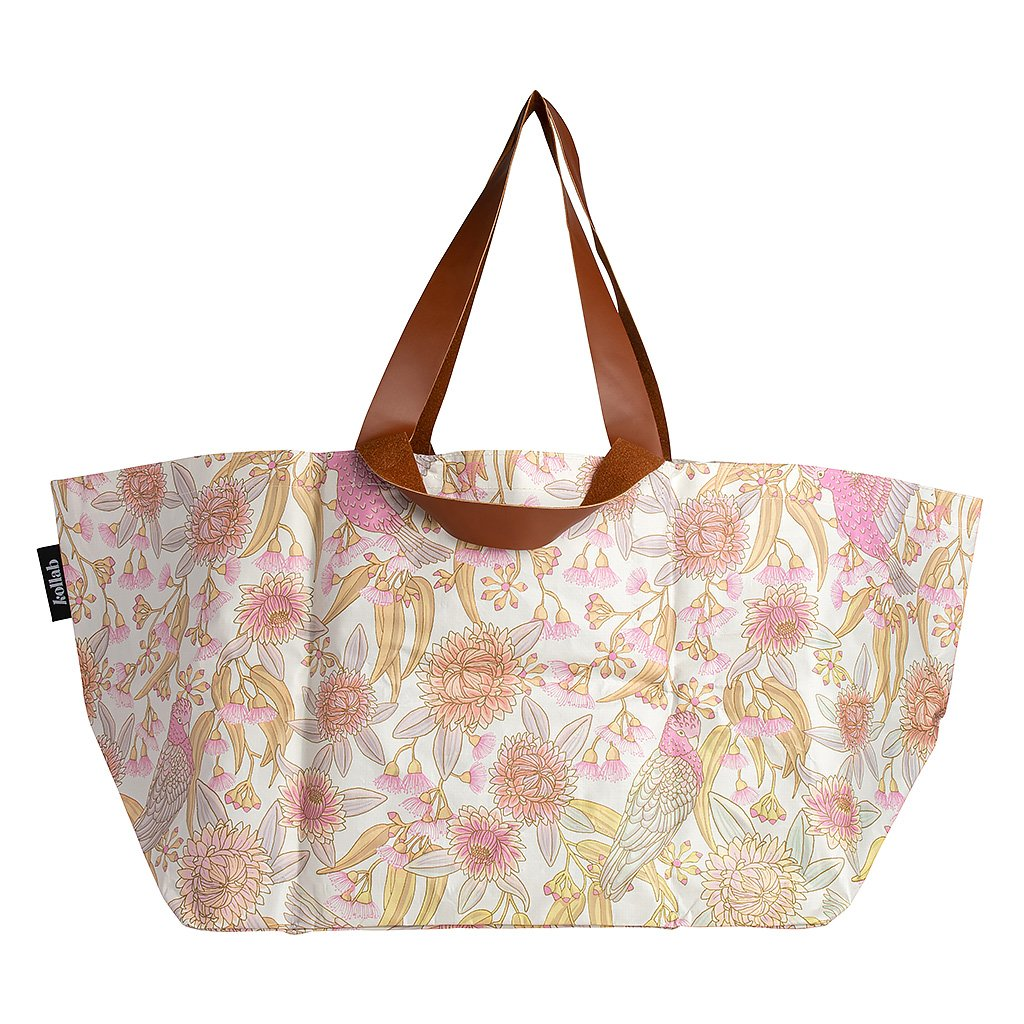 Kollab Poly Beach Bag Galah Floral