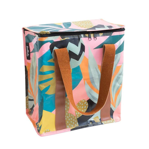 Kollab Poly Cooler Bag Monstera