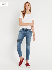 Aura Mid Brushed Glam Jean