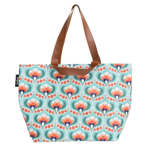 Kollab Poly Shopper Tote Sow Maude Floral