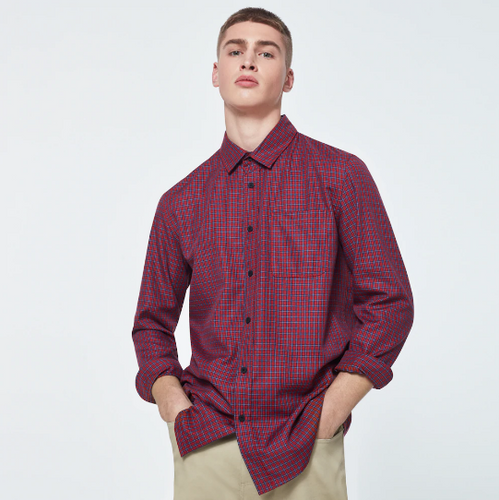 Checked Woven LS Shirt