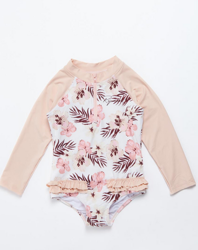 Girls Tropic LS Surf