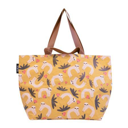 Kollab Poly Shopper Tote Sloth