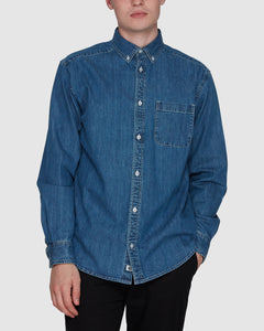 Bold LS Washed Shirt