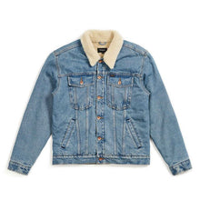 Cable Sherpa Denim Jacket