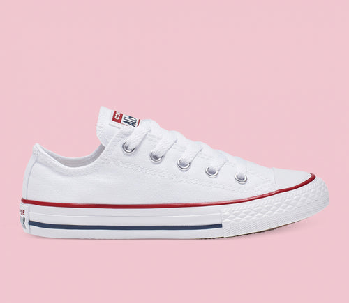 Youth Chuck Taylor Canvas Low White