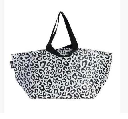 Kollab Poly Beach Bag Leopard
