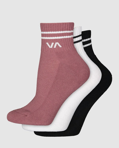 VA Mini Crew Sock 3 Pack