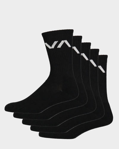 VA Sport Sock 5 pk Black