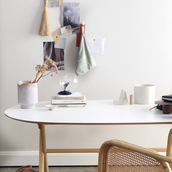 WFH styling tips from interior stylist, Mel Chatfield