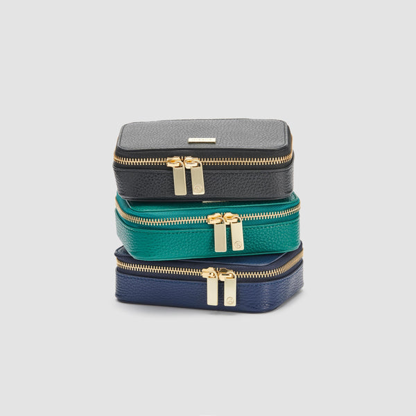 BLIXEN JEWELLERY CASE - NAVY