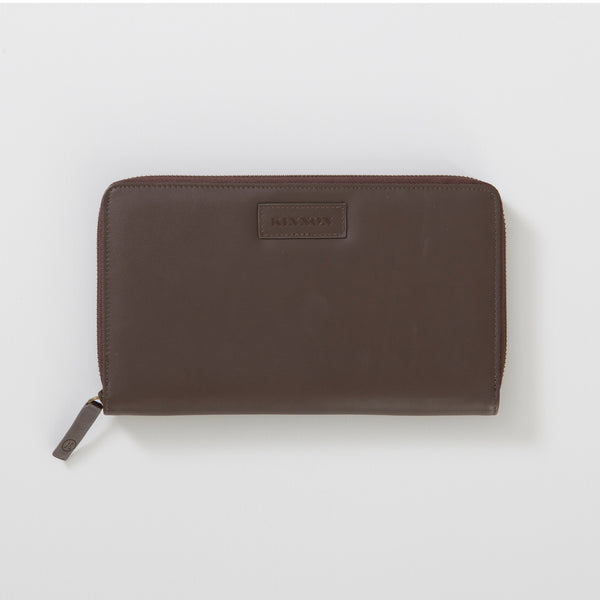 BURTON TRAVEL WALLET - CHOCOLATE