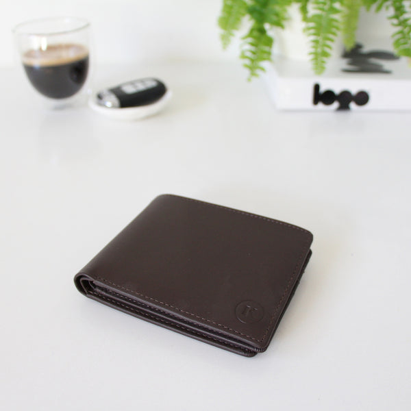TILLMAN WALLET - CHOCOLATE