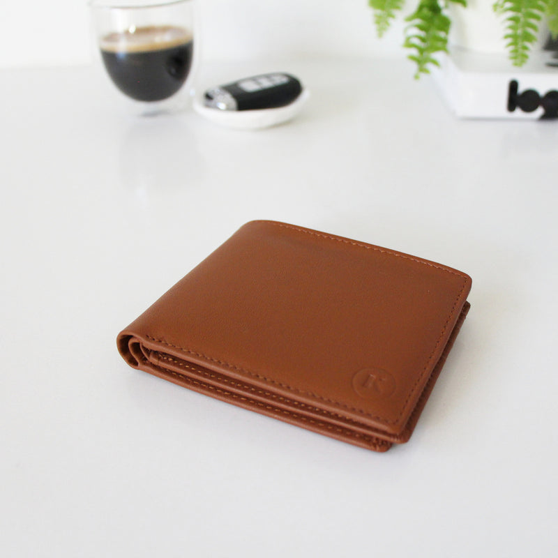 TILLMAN WALLET - TAN