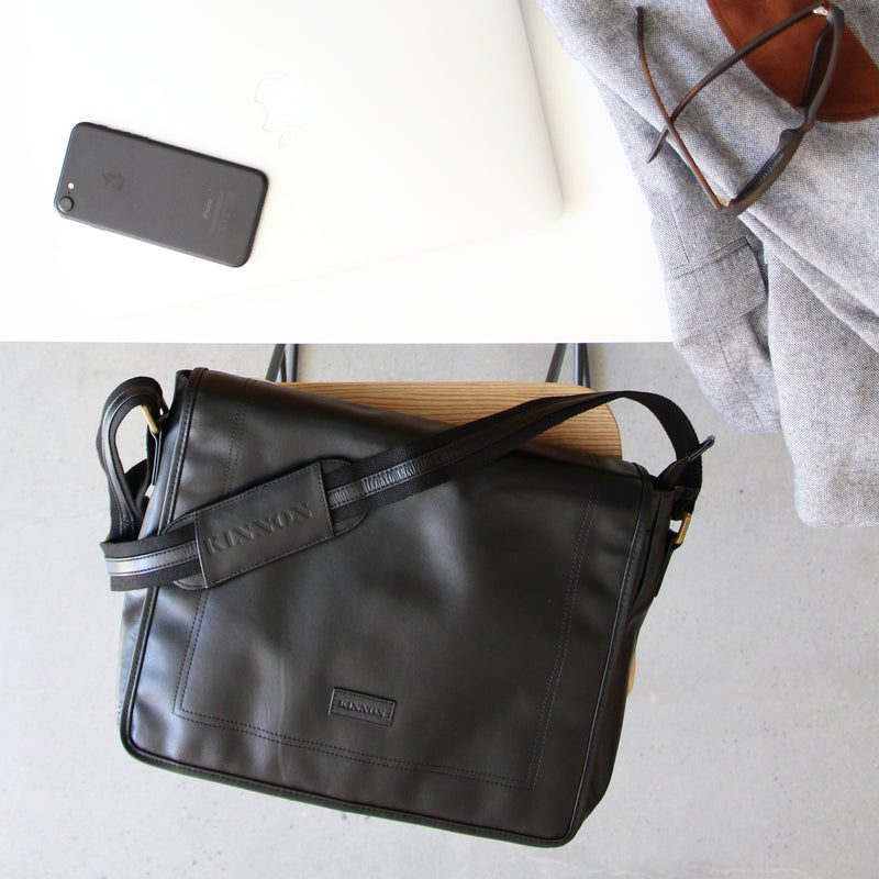 HARDY SATCHEL - BLACK