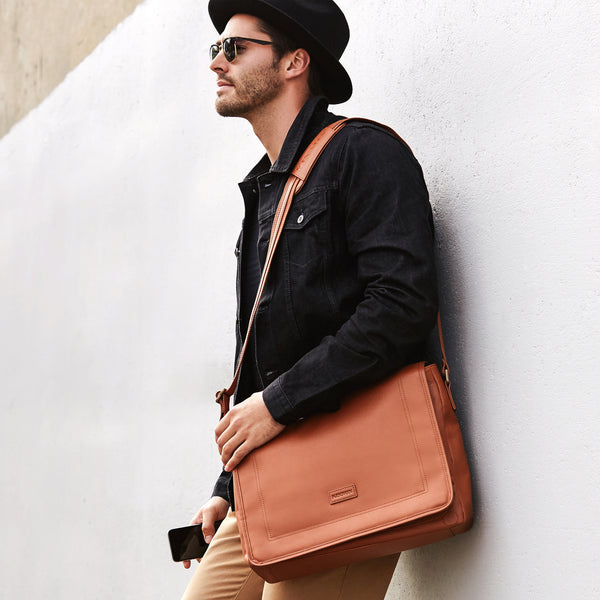 HARDY SATCHEL - TAN
