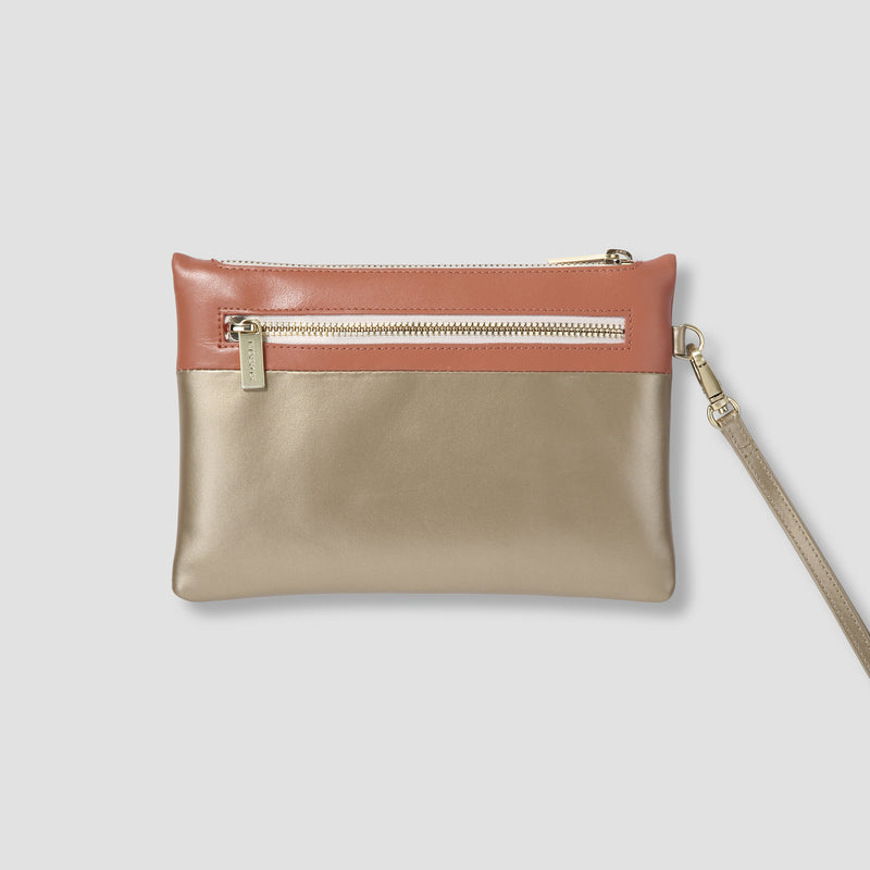 SOHO CLUTCH - GOLD