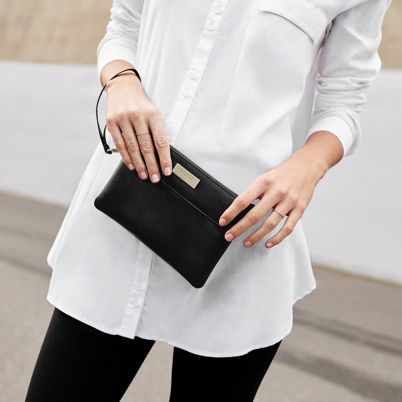 SOHO CLUTCH - BLACK