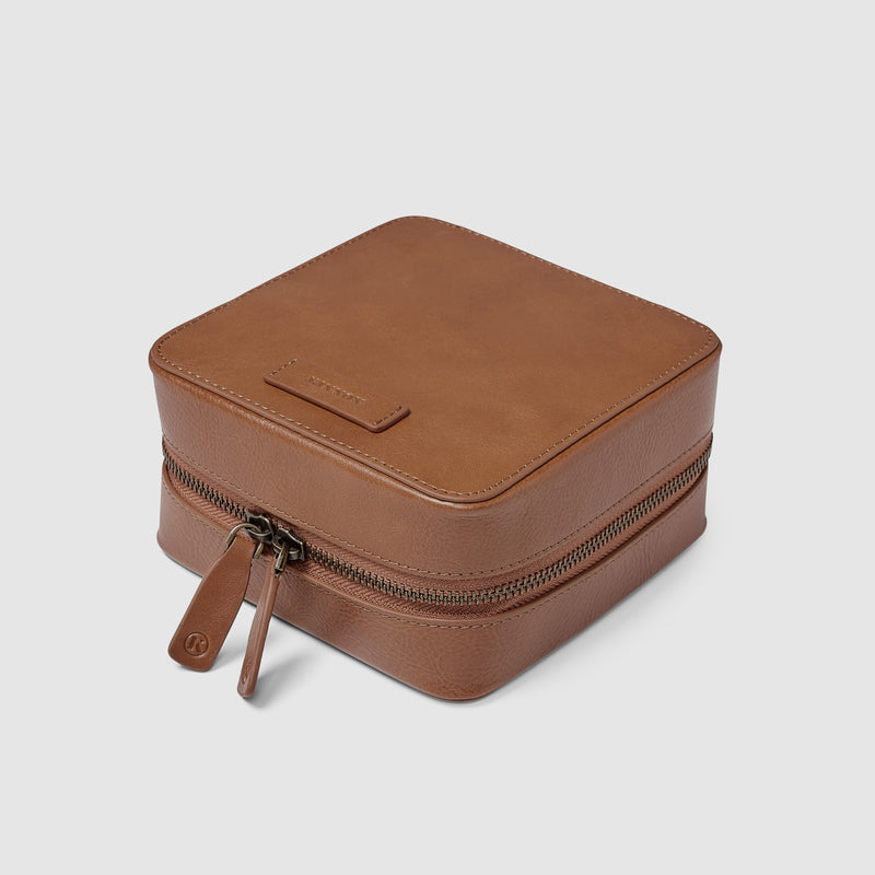 HENSON TECH CASE - VINTAGE TAN