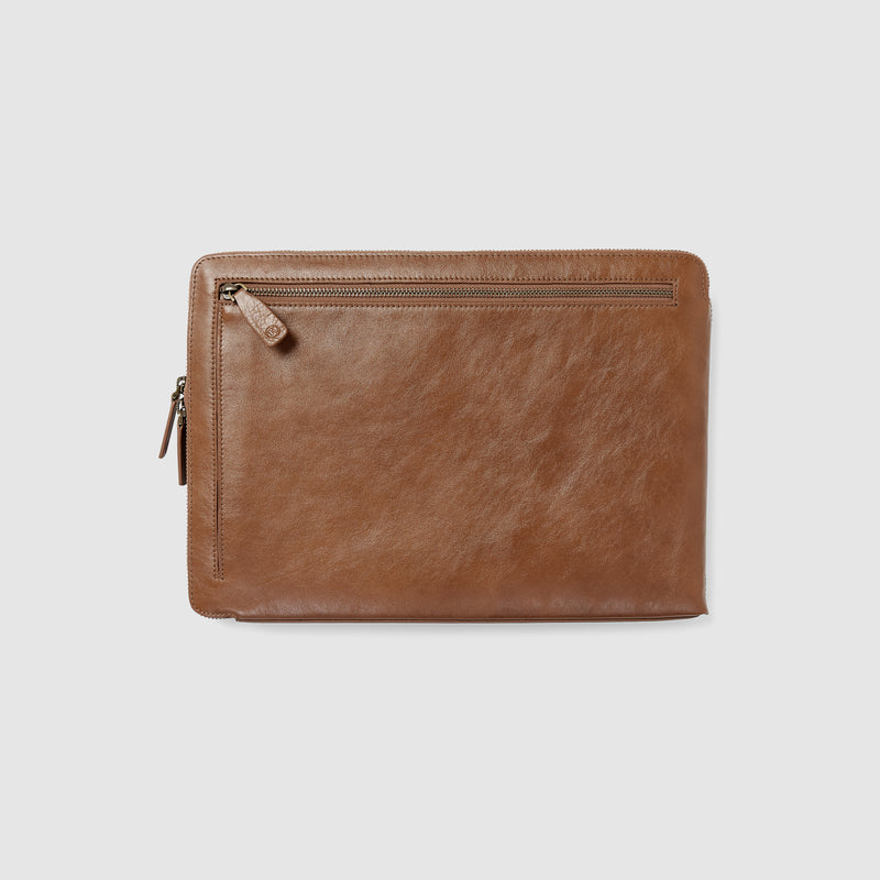 STARK LAPTOP SLEEVE - VINTAGE TAN
