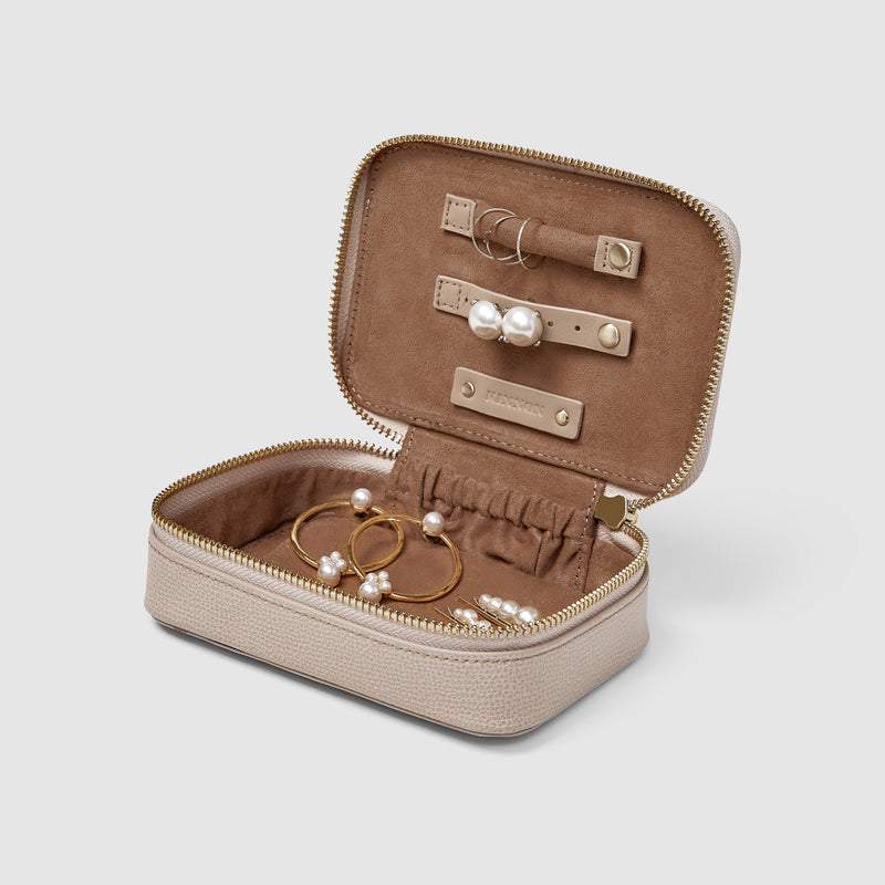 BLIXEN JEWELLERY CASE - NUDE
