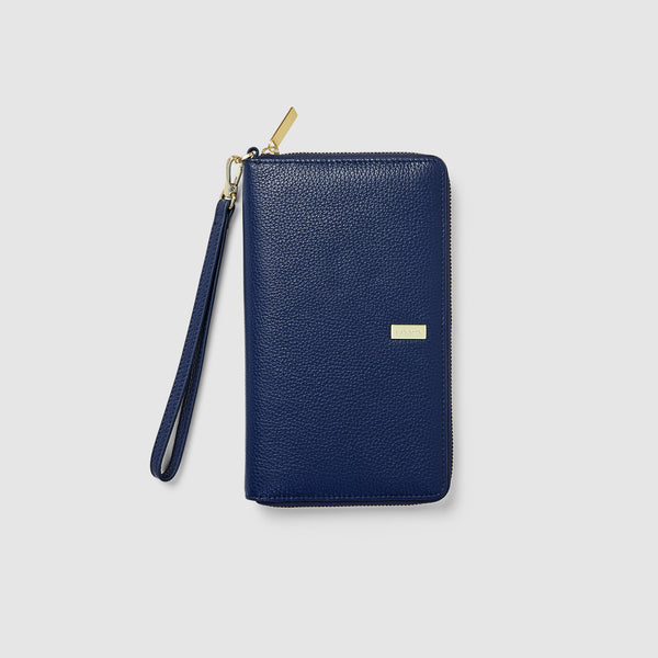 HEMINGWAY TRAVEL WALLET - NAVY