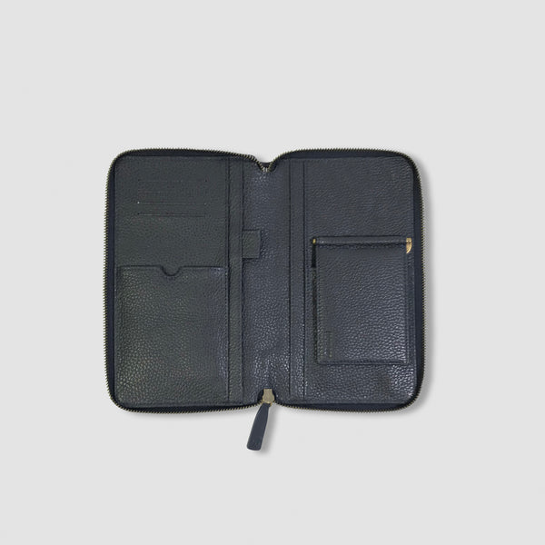 HEMINGWAY TRAVEL WALLET - BLACK (MENS)