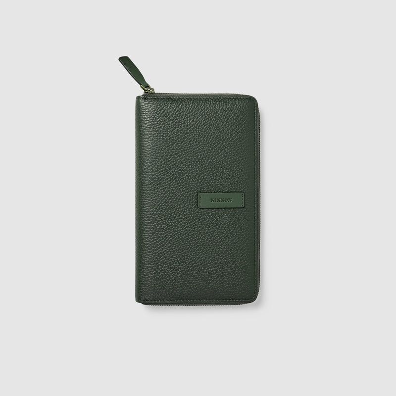 HEMINGWAY TRAVEL WALLET - OLIVE GREEN
