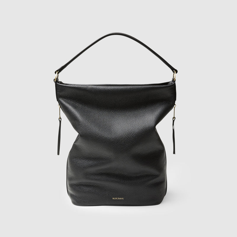 GINNI TOTE BAG - BLACK
