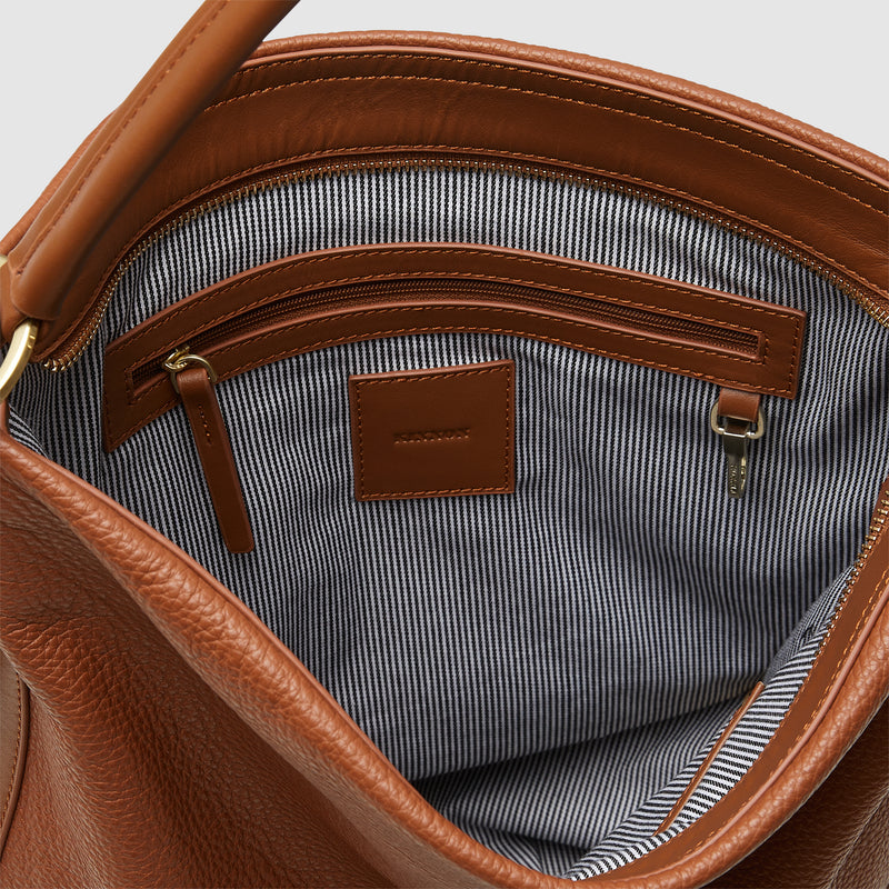 GINNI TOTE BAG - BUTTERSCOTCH