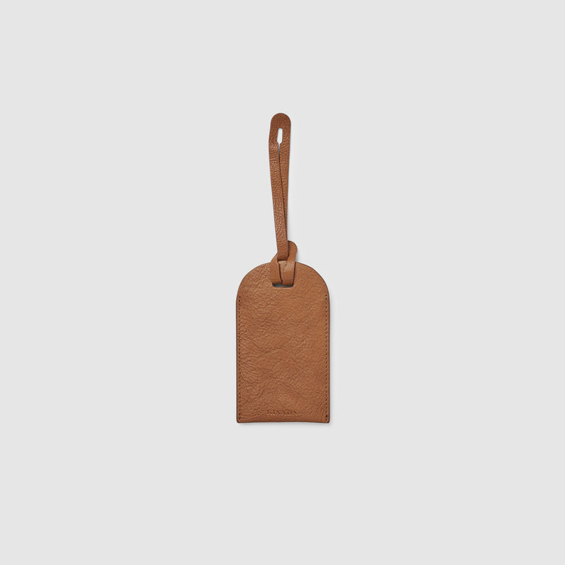 HALE LUGGAGE TAG - VINTAGE TAN