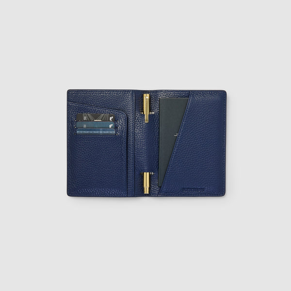 EARLE PASSPORT HOLDER - NAVY