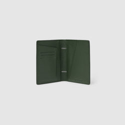 EARLE PASSPORT HOLDER - OLIVE GREEN