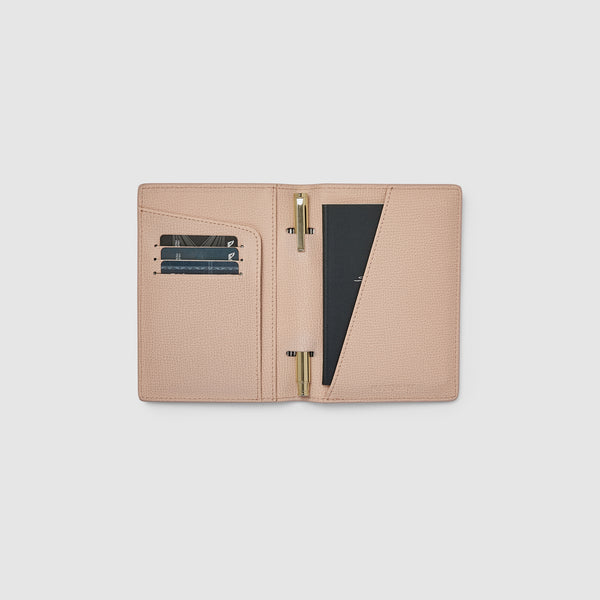 EARLE PASSPORT HOLDER - NUDE