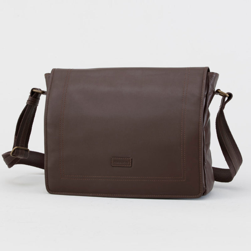 HARDY SATCHEL - CHOCOLATE