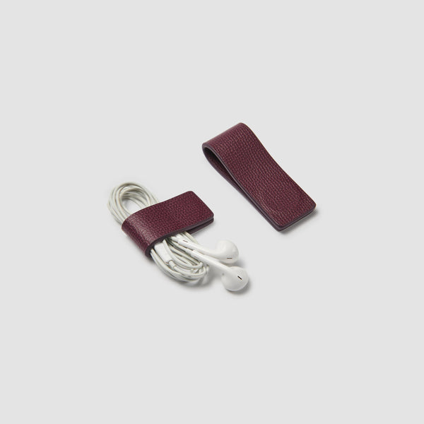 STRABO CABLE KEEPERS - PLUM