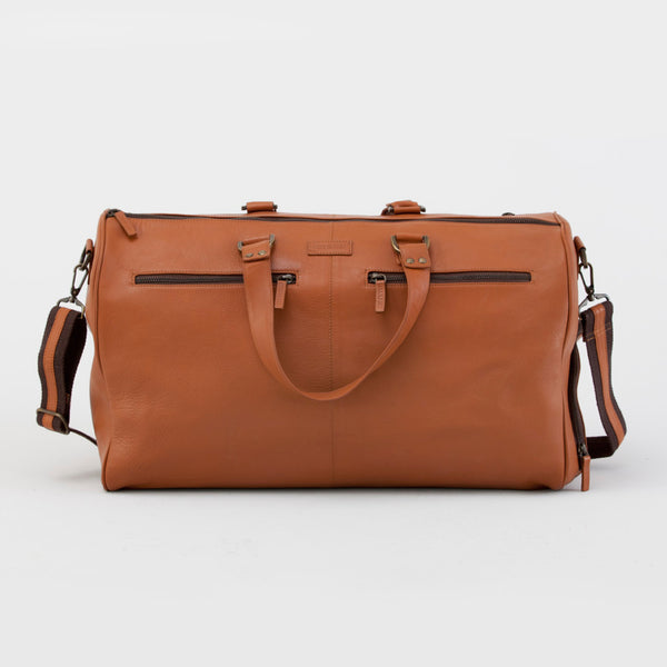 OXLEY OVERNIGHT BAG - TAN