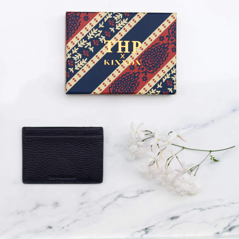 THP X KINNON CARD HOLDER - MIDNIGHT BLUE