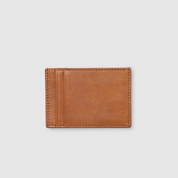 THP X KINNON CARD HOLDER - VINTAGE TAN