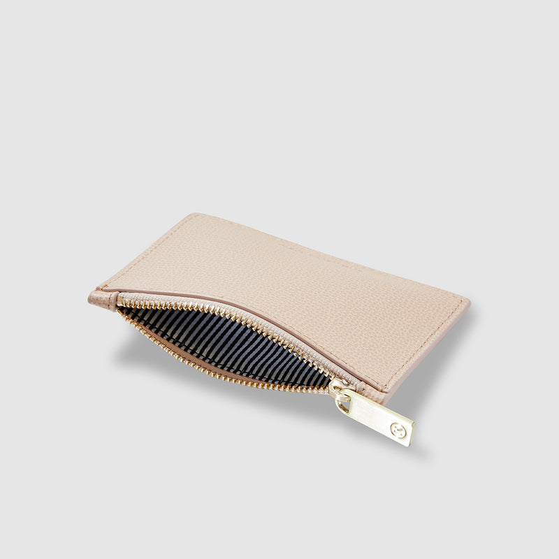 THP X KINNON CARD HOLDER - NUDE