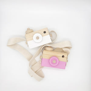 'Say Trees!' Wooden Camera Toy - Rinky Dinky London