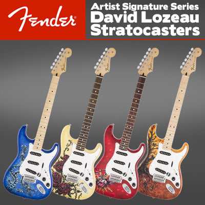 David Lozeau Fender Guitars