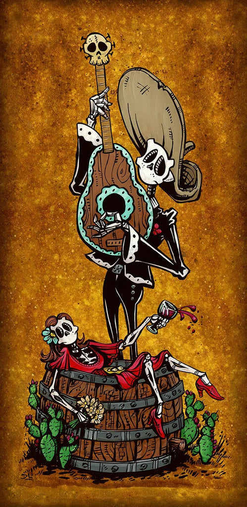Day of the Dead Artist David Lozeau, Dia de los Muertos, Muertos, Sugar Skull, Calavera, Date Night